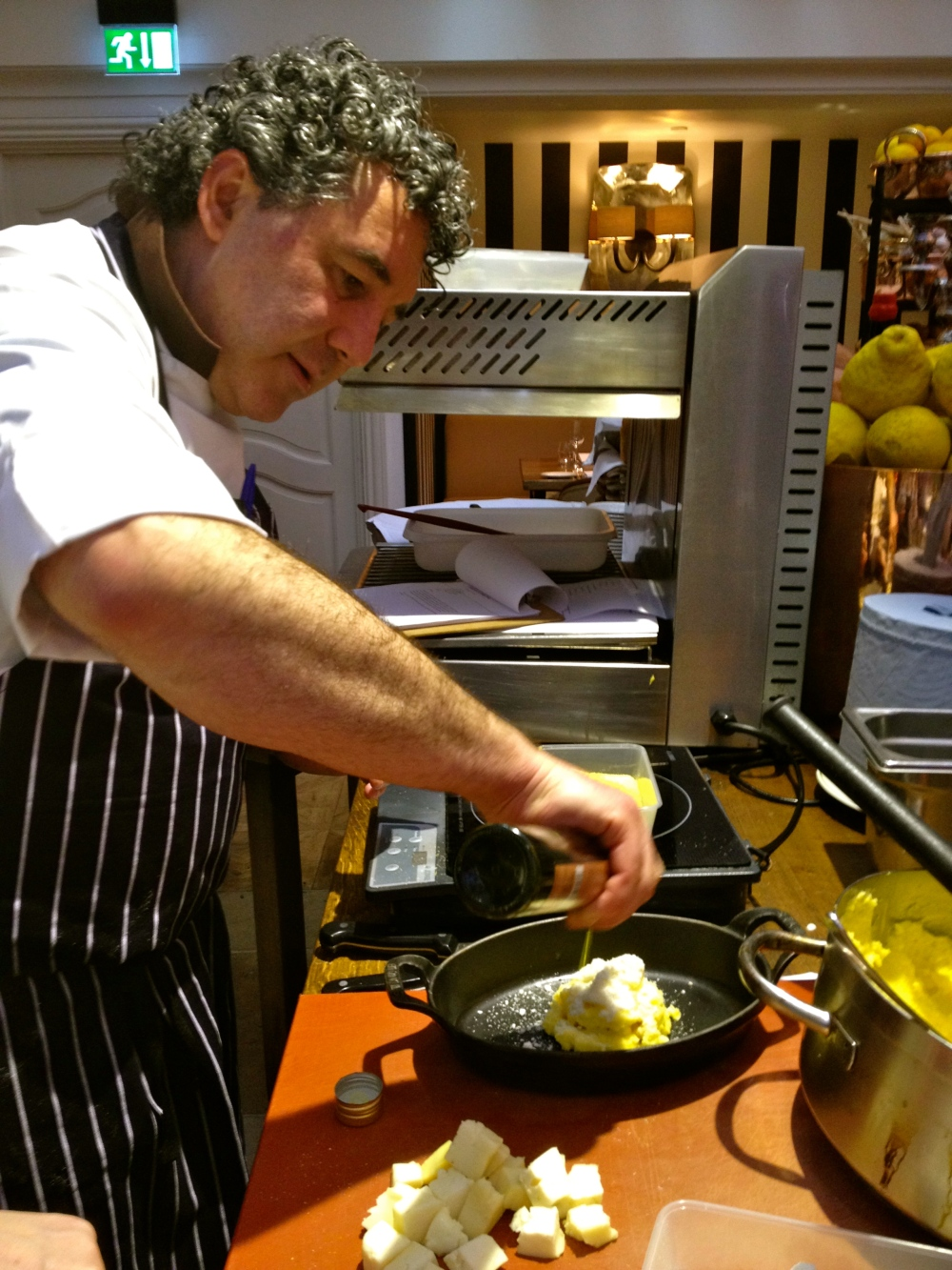 Italian Cooking Class at Novikov