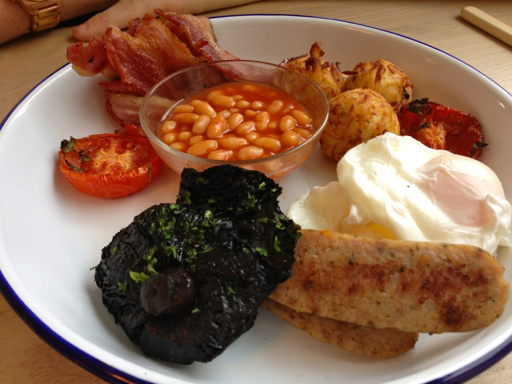 Poppy's Full English