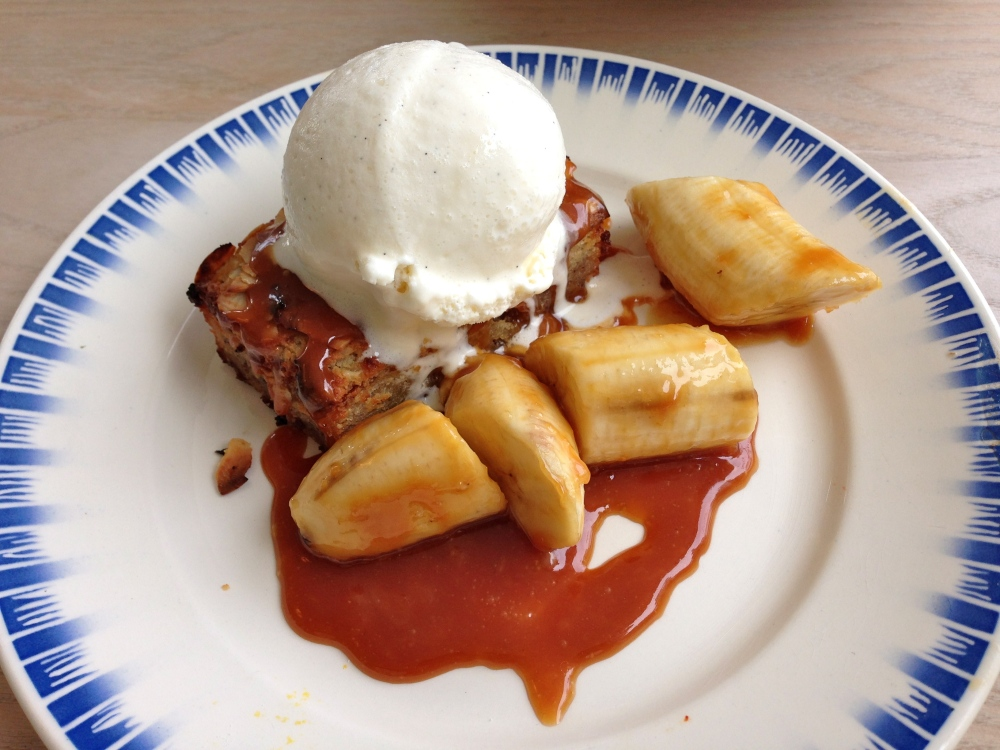 Apple Tart with Banana
