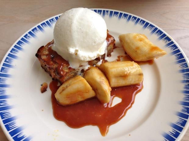 Apple Tart with Banana