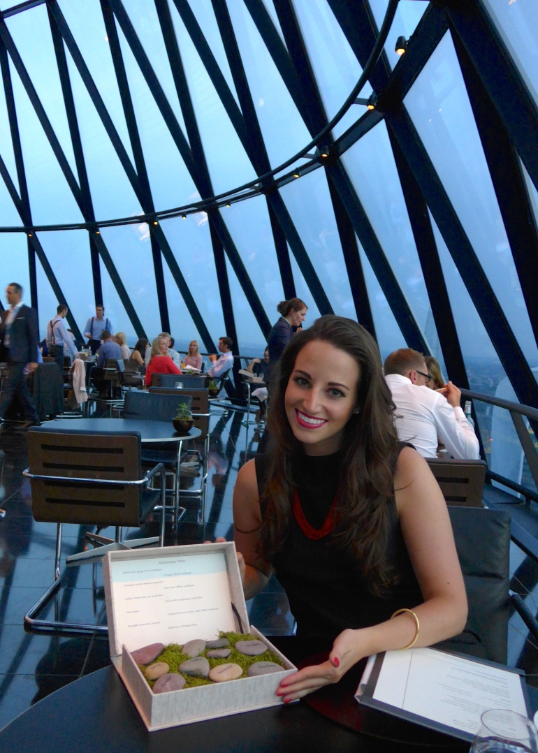 Searcys at The Gherkin